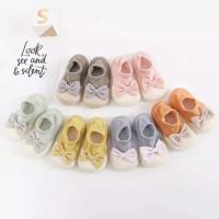 [MMPW140] Prewalker Sepatu Bayi Kaos Kaki Skidder Ribbon