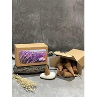 Dupa kerucut tumpeng buhur segitiga aromaterapi - Incense Cone Gopala - lavender
