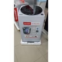 New Mesin cuci SHARP MEGAMOUTH LowWatt Series 9kg *KHUSUS MEDAN