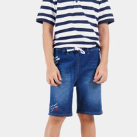 CELCIUS Kids Celana Jeans Pendek Anak A08475K Biru