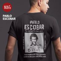 Kaos Pria Pablo Escobar Vintage Retro Distro