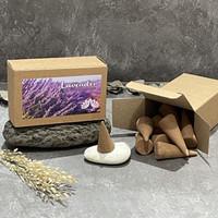 Dupa kerucut tumpeng buhur segitiga aromaterapi - Incense Cone Gopala