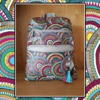 Sakroots Backpack Multi Mosaic Wanderlust