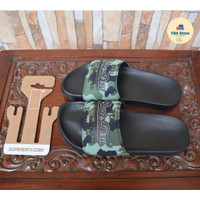 Sandal Pria Superdry Camo Pool Slide Original