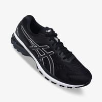 Sepatu Asics GT-2000 8 Wide Men's Running Shoes - Black/White Original