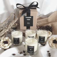 lilin aromaterapi scented candle soy wax candle 70ml