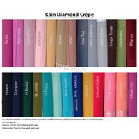 Kain Diamond Crepe 50cm / bahan Diamond Crepe Murah