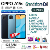 OPPO A15S RAM 4/64 GB GARANSI RESMI OPPO INDONESIA
