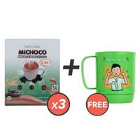 Beli 3 Lemonilo Michoco GRATIS 1 Mug Papa Nilo