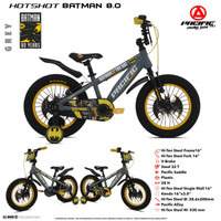 """Sepeda BMX PACIFIC 16"""" HOTSHOT BATMAN 8.0"""