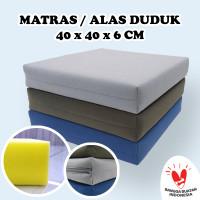 MATRAS / ALAS DUDUK / BANTAL MEDITASI / DOA / LESEHAN 40x40x6CM