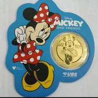 Emas UBS Angpao 24k Minnie Mouse 0.1gr