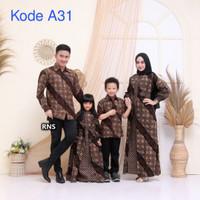 baju batik keluarga (ayah, ibu, Anak Cewek dan anak cowok)