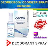 DEOREX BODY ODORIZER SPRAY 60ML / DEODORANT SPRAY