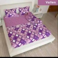 bed cover set Lady rose sprei Flat uk 160x200 motif Vallen