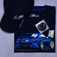 Kaos Baju Distro Toyota GT86 JDM - Hanya Kaos HITAM dan NAVY