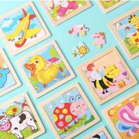 Puzzle Kayu Mainan Edukasi Anak Wooden Puzzle