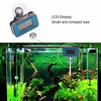 Thermometer / Termometer Celup Aquarium Digital ( Termasuk Baterai )