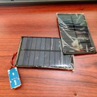 paket modul panel surya solar cell 2WP modul charger 5V power bank