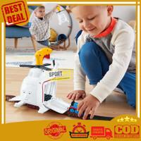 Thomas & Friends Press'n Spin Harold Helicopter Track Master Mainan