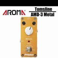 Efek Gitar Tomsline AMD 3 Metal Distortion Pedal By Aroma Original