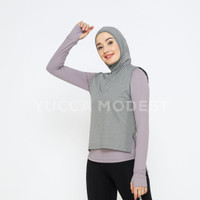 Hijab Top Sporty Kerudung Olahraga Jilbab Sport Instan -Yucca Modest