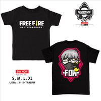 Kaos Baju Anak FREE FIRE FDW EFDEWE GAMERS YOUTUBE STREAMER Kaos Game