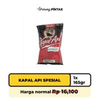 Kapal Api Kopi Bubuk Special 165gr (1 Bungkus)