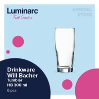 Luminarc Drinkware Willi Becher - Tumbler 330 ml H/B - Box of 6