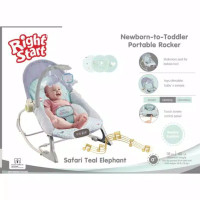 Ayunan Bayi Baby Bouncer Right Start Newborn To Toddler Rocker