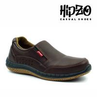 Sepatu Pria Casual Slip On Hipzo Sepatu Cowok Kerja Casual Sepatu Pria