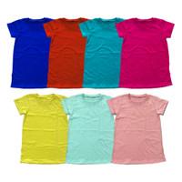DRESS BASIC BAYI DAN ANAK (1) - RED, 5Y