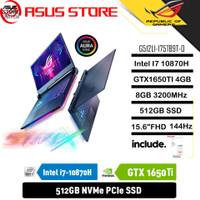 ASUS ROG STRIX G512LI-I75TB9T i7-10870H 8GB 512GB GTX1650Ti 4GB OHS