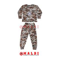 Setelan Anak Loreng Army Baju Celana Panjang Loreng Gurun