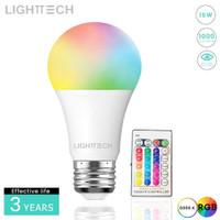 Bohlam RGB 15W Lighttech E27 With Remote Control