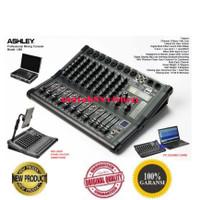 Mixer 8ch Ashley LM8 /LM 8 Original 8 Ch Bluetooth - USB FREE koper