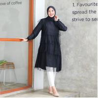 Baju Atasan Wanita Muslim Original | Virla Blouse | Terminal Grosir