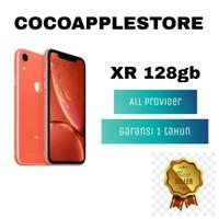 APPLE IPHONE XR 128GB FULLSET ( GARANSI 1 TAHUN )