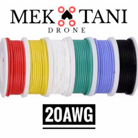 KABEL SILIKON 20 AWG SILICONE CABLE PER 10 CM