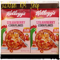 Kellogs Fruit Strawberry Corn Flakes 180gr