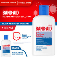Band Aid Sanitizer Disinfectant 100 ml - Buy 1 Get 1