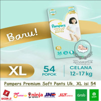 Pampers Premium Care Pants - Popok Celana XL54 / XL 54 / XL-54