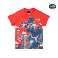 JummaKids Mad Ape printed T-Shirt Anak