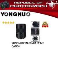 LENSA YONGNUO YN-60MM F2 MF FOR CANON