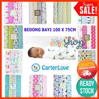 Bedong 4in1 Kain Bayi by Carter Carters Besar Jumbo Selimut Isi 4