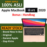 "Apple MacBook Air M1 Chip 2020 8GB 13"" 256GB / 512GB GRAY GOLD SILVER - 256GB GOLD, NO BONUS"