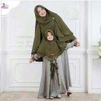 Gamis Couple Mirable Mom Kids Baju Gamis Syari Wanita Terbaru Murah