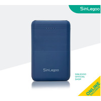 Sinlegoo Power Bank XPB-10 Compact Pocket Size 10000mAh Midnight Blue