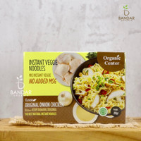 Instant Veggie Noodles / Mie Instant Sehat Organic Center - Ayam Bawang