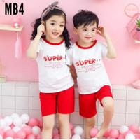 Baju Rumah anak laki - laki - Baju jalan anak perempuan set import